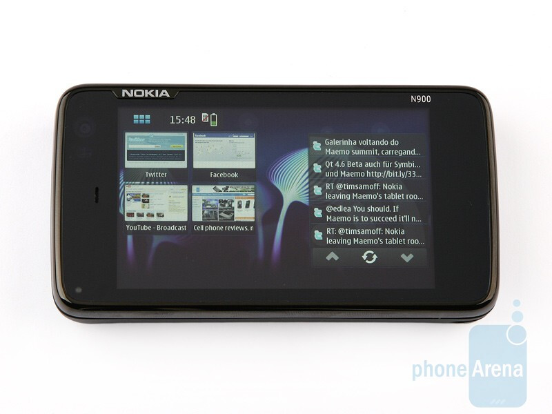 The 3.5-inch display - Nokia N900 Review