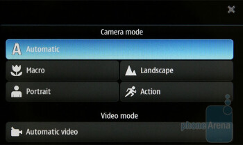 The camera interface of the Nokia N900 - Nokia N900 Review