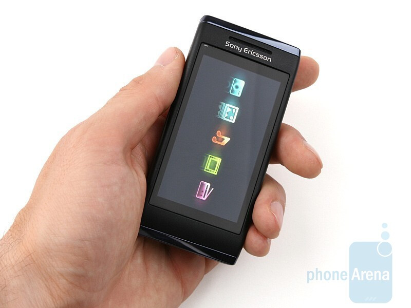 The Sony Ericsson Aino is a solid and well made phone - Sony Ericsson Aino Review