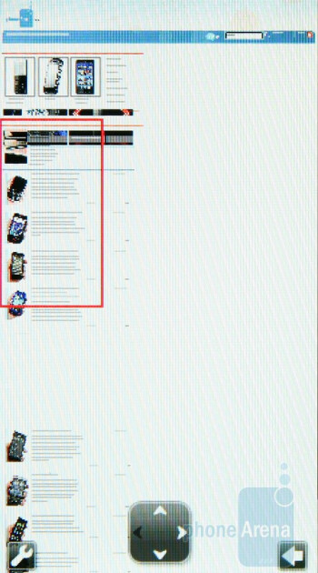 Unfortunately, the browser performs pretty badly as per today´s standards - Sony Ericsson Aino Review