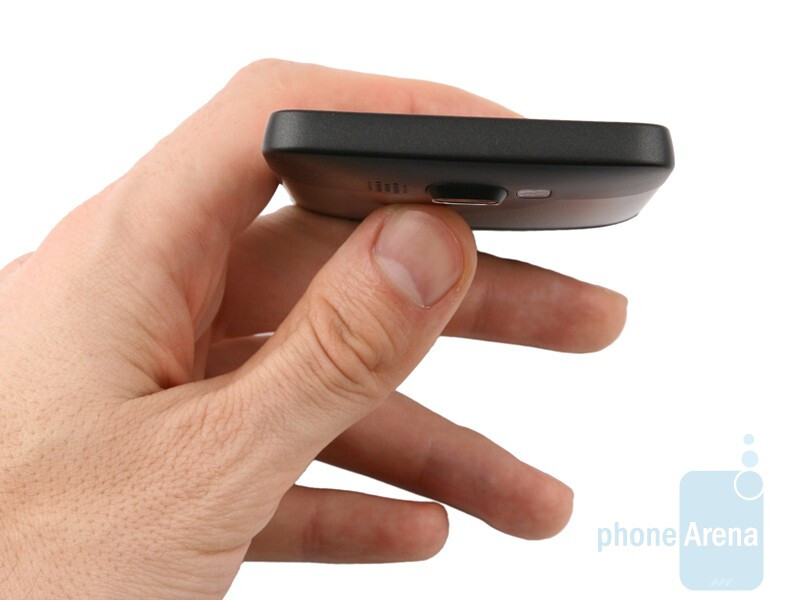The HTC HD2 is rather rectangular, but quite thin - HTC HD2 Review