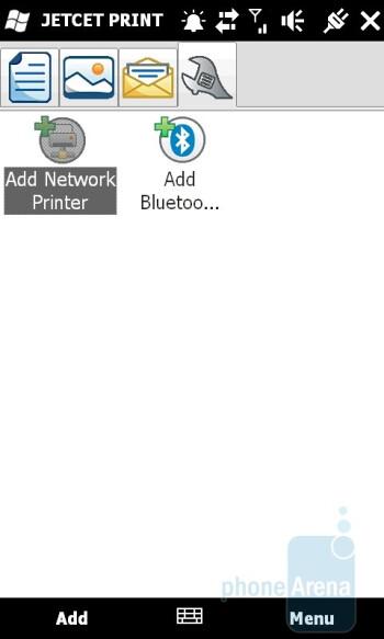 JET PRINT 5 - HTC HD2 Review
