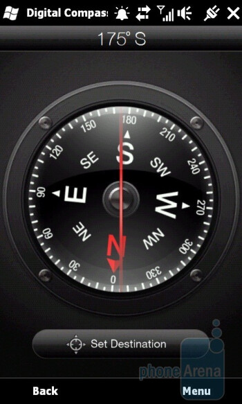 The digital compass, Google Maps and CoPilot Live - HTC HD2 Review