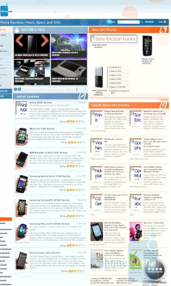 Internet Explorer - HTC HD2 Review