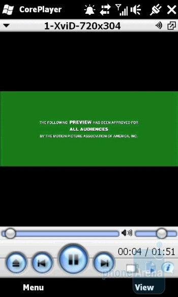CorePlayer - HTC HD2 Review