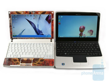 The Nokia Booklet 3G compared to the Samsung NC10 - Nokia Booklet 3G Review