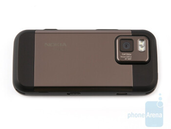 The back - Nokia N97 mini Review