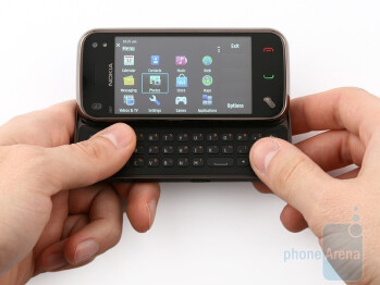 The Nokia N97 mini is much more appealing and dainty than the N97 - Nokia N97 mini Review