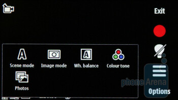 The camera interface - Nokia N97 mini Review