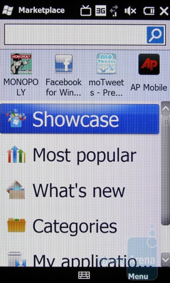 HTC Imagio - Downloading apps - Motorola DROID, HTC Imagio and DROID ERIS: side by side