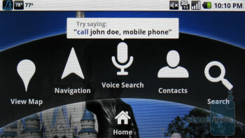 Navigation with the Motorola DROID - Motorola DROID, HTC Imagio and DROID ERIS: side by side