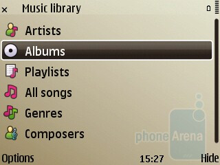 The music player - Nokia E72 Review