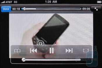 YouTube video - Surfing the web with the Apple iPhone 3GS - Motorola DROID, Apple iPhone 3GS and Palm Pre: side by side