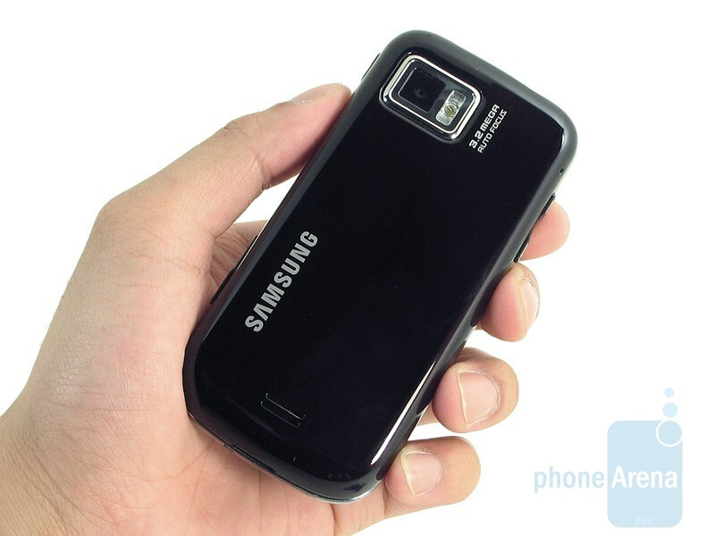 The Samsung Mythic A897 is a bit more stretched out - Samsung Mythic A897 Review