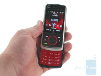 The Motorola Debut i856 is the first iDEN slider to hit the market - Motorola Debut i856 Review