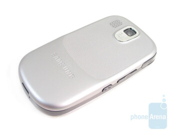The back of the Samsung Flight A797 - Samsung Flight A797 Review