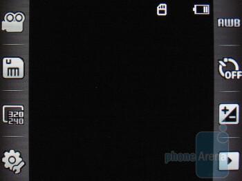 Camcorder - Camera interface - Samsung Flight A797 Review