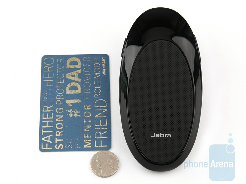 The Jabra SP700 sports pretty much the same overall size as the SP200 - Jabra SP700 Review