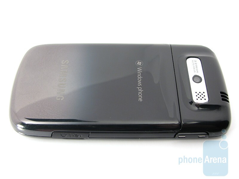 Back - Samsung OmniaPRO B7330 Review