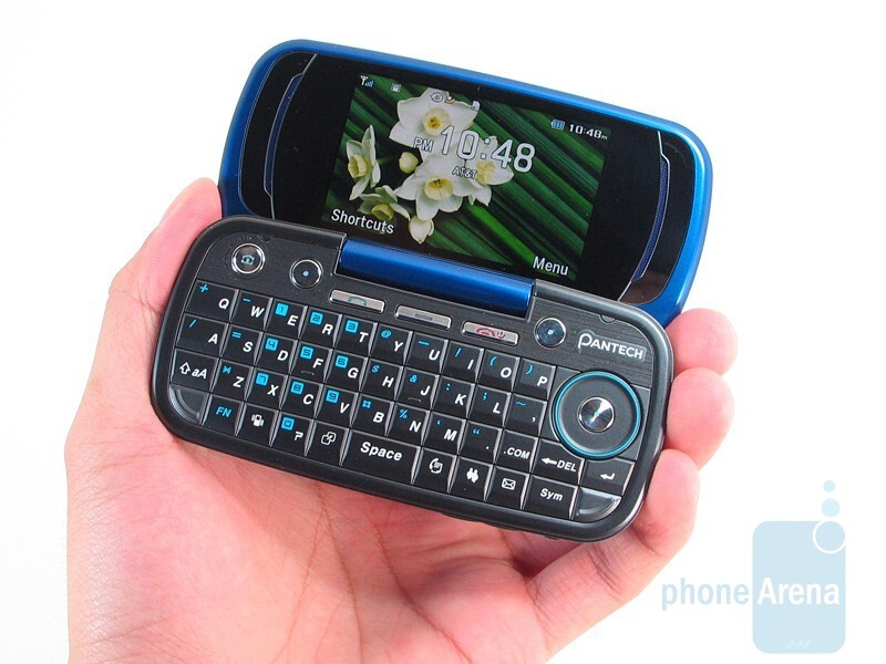 The construction of the Pantech Impact feels solid - Pantech Impact P7000 Review