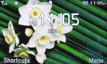 Home screen - Pantech Impact P7000 Review