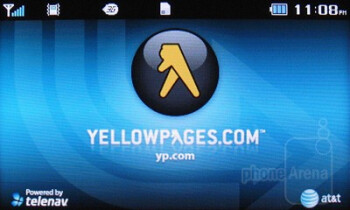 Yellow Pages mobile - Third party software on the Pantech Impact - Pantech Impact P7000 Review