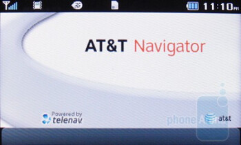 AT&T Navigator - Third party software on the Pantech Impact - Pantech Impact P7000 Review
