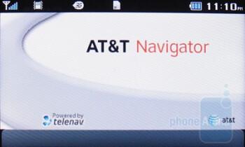 AT&T Navigator - Third party software on the Pantech Impact - Pantech Impact P7000 Review