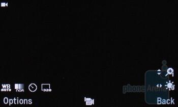 Camera interface - Pantech Impact P7000 Review