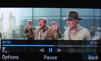 Video playback - Pantech Impact P7000 Review