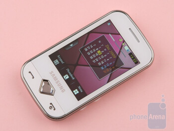 The Samsung Diva S7070 is definitely the simpler of the two - Samsung Diva S7070 and Diva folder S5150 preview