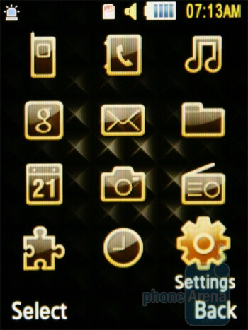 The Samsung Diva folder S5150 is not equipped with any features specifically aimed at ladies - Samsung Diva S7070 and Diva folder S5150 preview