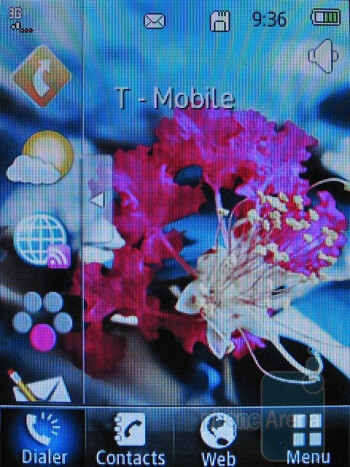 Home screen - T-Mobile Tap Review
