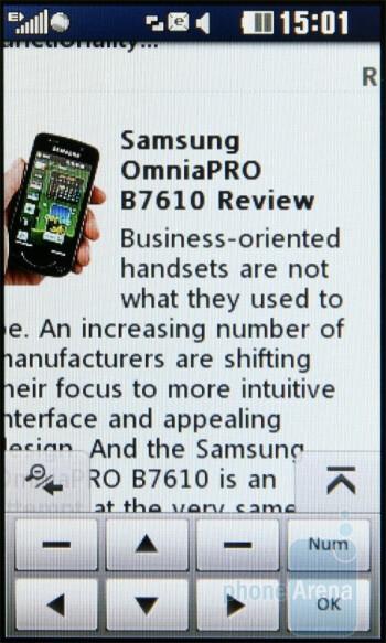 Opera Mini 5 - LG Pop GD510 Review