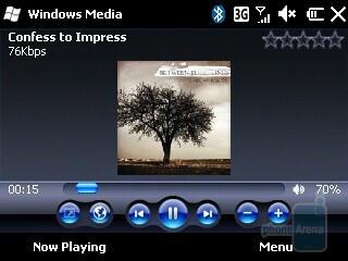 Music playback - HP iPAQ Glisten Review