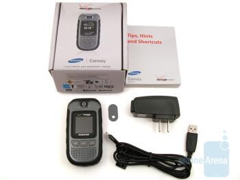 Samsung Convoy U640 - Casio G'zOne Rock, Motorola Barrage and Samsung Convoy: side by side