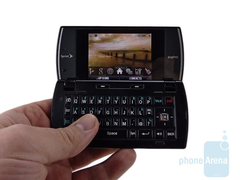 Sanyo Incognito SCP-6760 sports a touch-sensitive keypad - Sanyo Incognito SCP-6760 Review