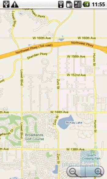 The Acer Liquid A1 comes with Google Maps - Acer Liquid A1 Review