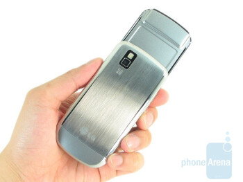 The LG Shine II GD710 feels a bit hefty in the hand when compared to other slider phones - LG Shine II GD710 Review