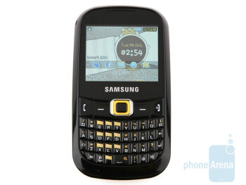 The screen of Samsung CorbyTXT B3210is just 2.2 inches - Samsung CorbyTXT B3210 Review