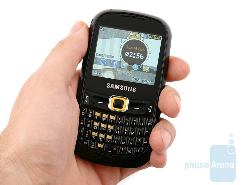 Samsung CorbyTXT B3210 feels pretty comfy in your hand - Samsung CorbyTXT B3210 Review