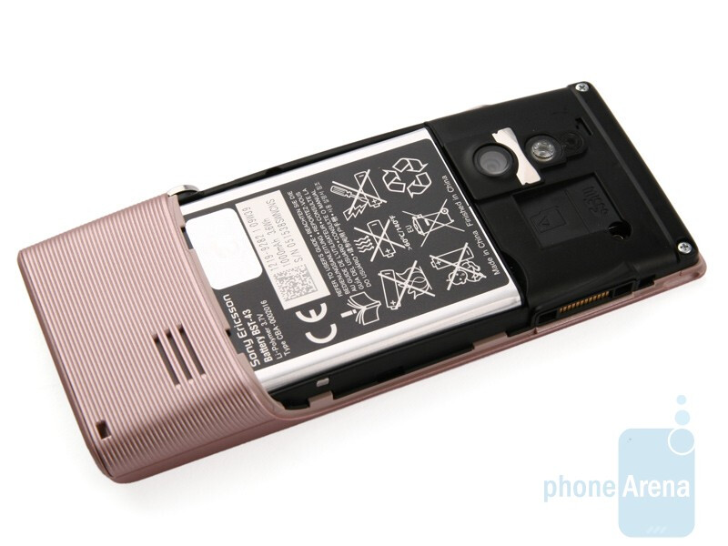 Sony Ericsson Elm - The microSD slots are below the battery cover - Sony Ericsson Hazel and Elm Preview