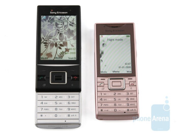 Sony Ericsson Hazel (left) and Sony Ericsson Elm (right) - Both models feature 5-megapixel cameras - Sony Ericsson Hazel and Elm Preview