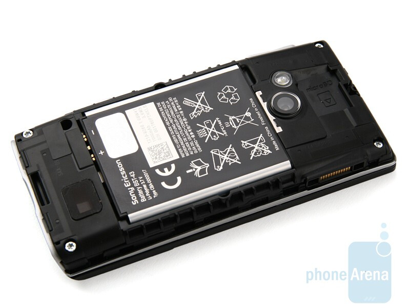 Sony Ericsson Hazel - The microSD slots are below the battery cover - Sony Ericsson Hazel and Elm Preview