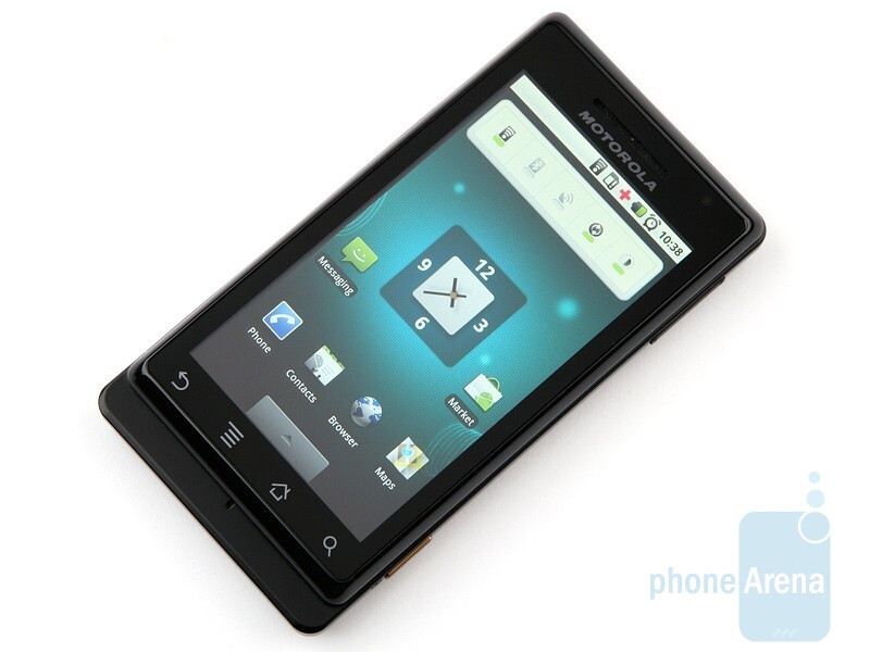 The Motorola MILESTONE has by far the best screen availableon any Android handset - Motorola MILESTONE Review