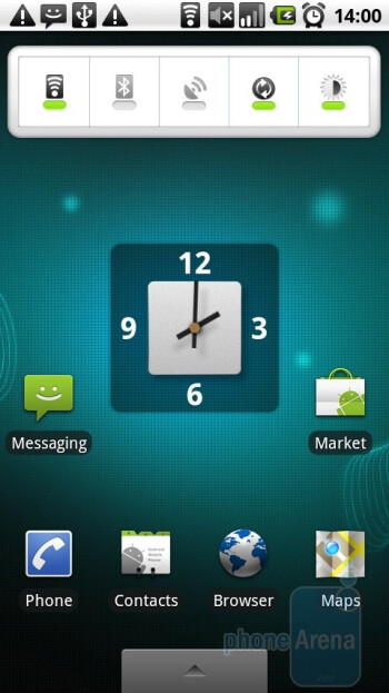 The Motorola MILESTONE is the first GSM to have Android v.2.0 - Motorola MILESTONE Review