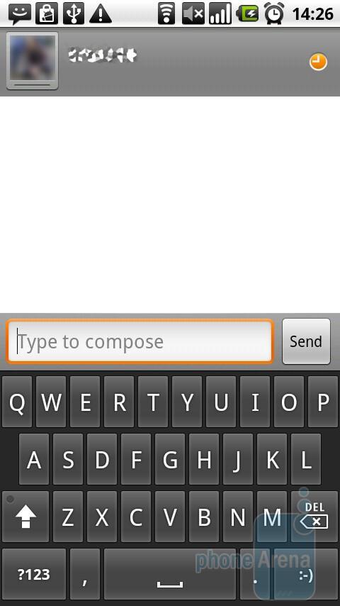 Google Talk - Motorola MILESTONE Review