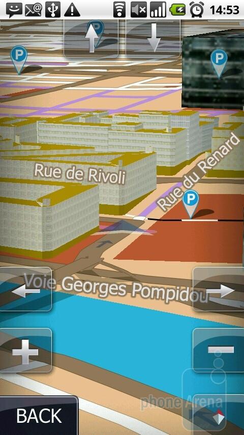 The MOTONAV app comes with a 60 day free trial - Motorola MILESTONE Review
