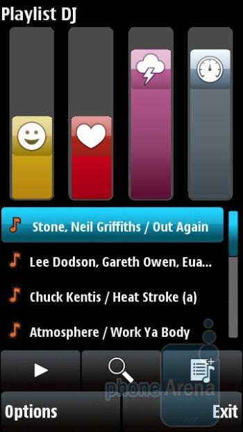 Playlist DJ - Audio player - Nokia X6 Review