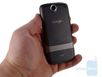 The HTC Nexus One has a tendency to almost jump out of our hands - Google Nexus One Review